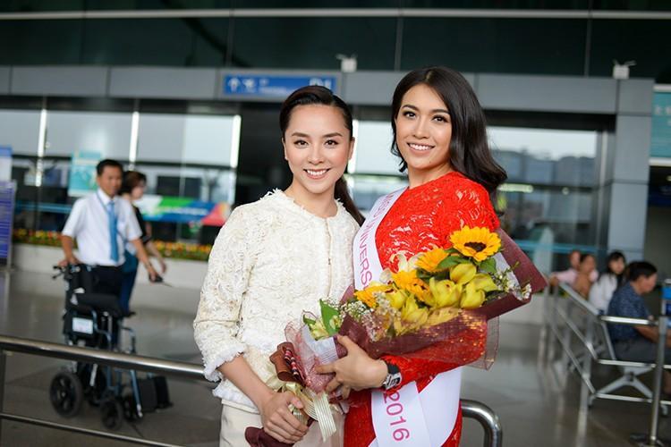 Pham Huong, Thien Ly tien Le Hang di thi Miss Universe 2016-Hinh-4