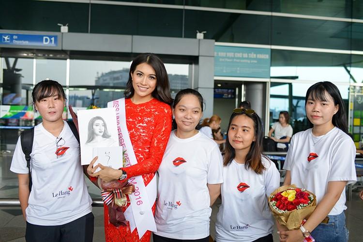 Pham Huong, Thien Ly tien Le Hang di thi Miss Universe 2016-Hinh-5