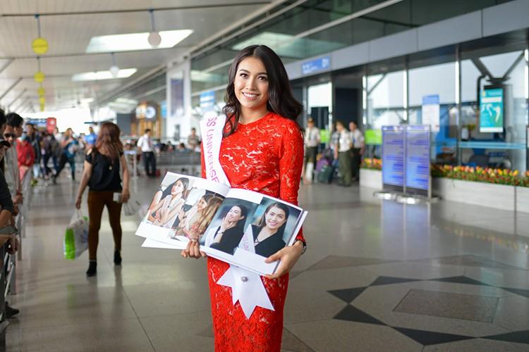 Pham Huong, Thien Ly tien Le Hang di thi Miss Universe 2016-Hinh-6