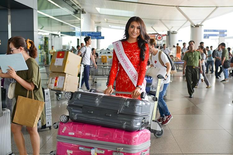 Pham Huong, Thien Ly tien Le Hang di thi Miss Universe 2016-Hinh-7