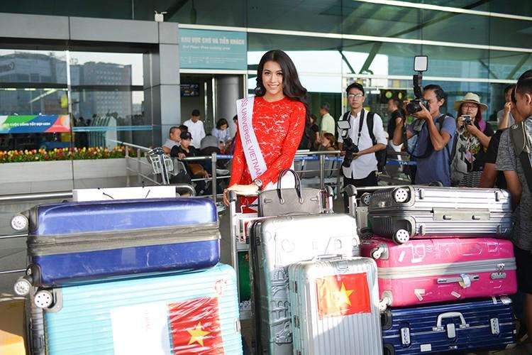 Pham Huong, Thien Ly tien Le Hang di thi Miss Universe 2016-Hinh-8