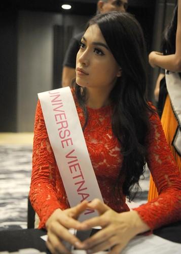 Hinh anh dau tien cua Le Hang tai Miss Universe 2016-Hinh-6
