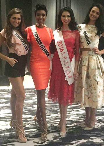 Hinh anh dau tien cua Le Hang tai Miss Universe 2016-Hinh-8