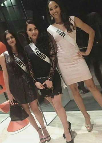 Hinh anh dau tien cua Le Hang tai Miss Universe 2016-Hinh-9