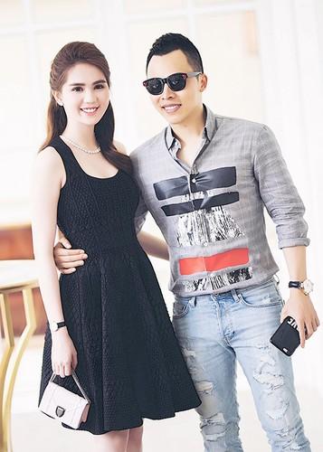 Ty phu Hoang Kieu hon Ngoc Trinh tai san bay gay sot-Hinh-5