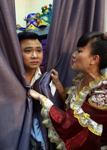 Anh hau truong buoi ghi hinh dau tien cua Tao quan 2017-Hinh-9