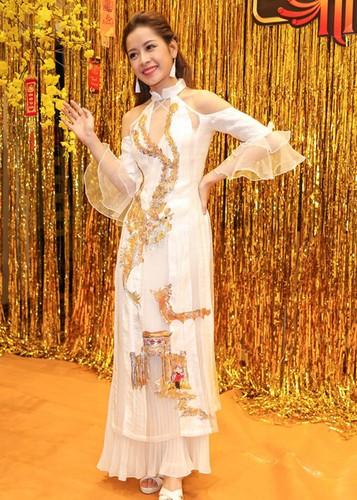 My nhan Viet dep diu dang trong ao dai don Tet-Hinh-12