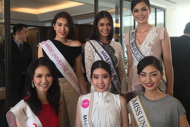 Do sac Le Hang va nguoi dep cung phong tai Miss Universe-Hinh-2