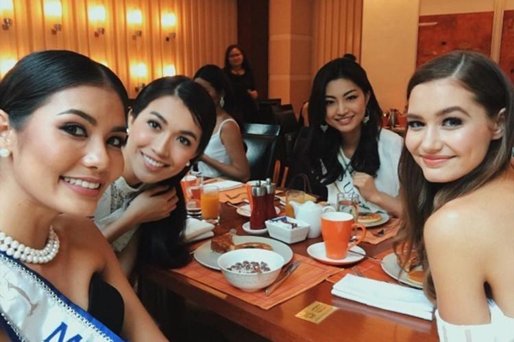 Do sac Le Hang va nguoi dep cung phong tai Miss Universe-Hinh-4
