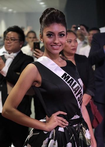 Dung nhan 12 thi sinh dep nhat truoc ban ket Miss Universe-Hinh-11