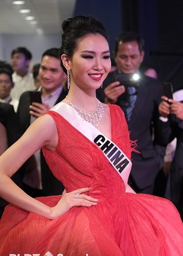 Dung nhan 12 thi sinh dep nhat truoc ban ket Miss Universe-Hinh-8