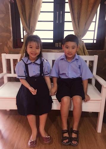 Vo cu Thanh Trung nhan mot be trai lam con nuoi-Hinh-4