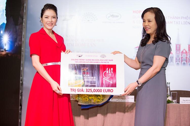 Ly Nha Ky chi 1 trieu euro quang ba hinh anh VN tai Cannes-Hinh-2