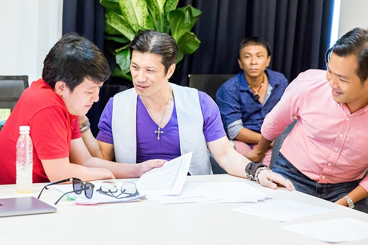 Sap cuoi Nha Phuong, Truong Giang van ban ron casting phim-Hinh-2