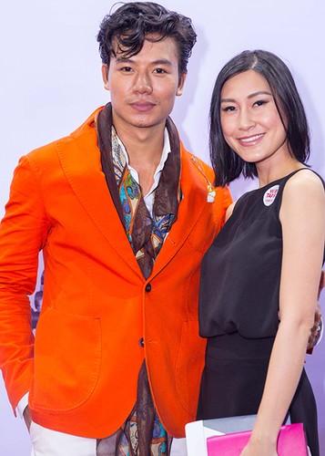 Ly Thanh Thao cung chong Tay mang con di ra mat phim-Hinh-14