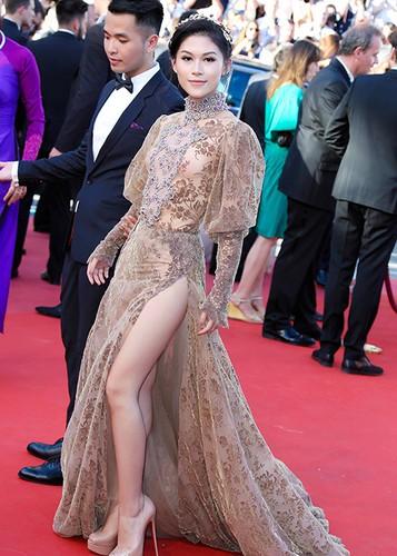 Ngoc Thanh Tam dien vay gan 1 ty tren tham do Cannes 2017-Hinh-2