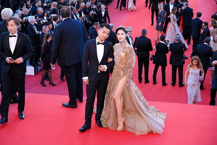 Ngoc Thanh Tam dien vay gan 1 ty tren tham do Cannes 2017-Hinh-4