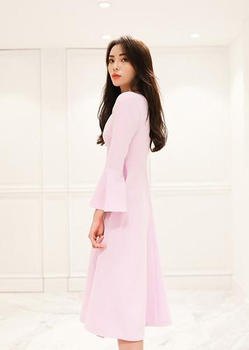 HH Ky Duyen hao hung chon vay ao du show thoi trang-Hinh-3