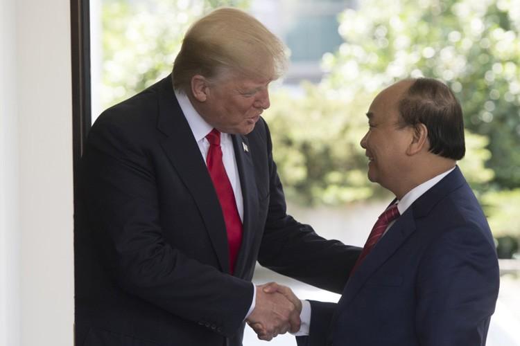 Anh: Tong thong Donald Trump mong doi chuyen tham Viet Nam thang 11-Hinh-2