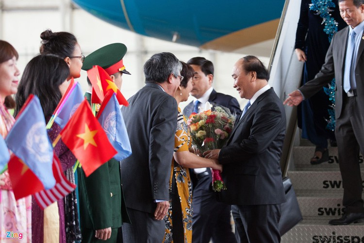 Anh: 3 ngay ban ron cua Thu tuong Nguyen Xuan Phuc tai Hoa Ky