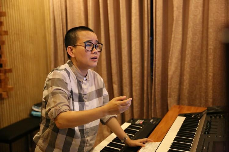 Tim - Truong Quynh Anh tinh tu di thu am MV ca nhac-Hinh-8