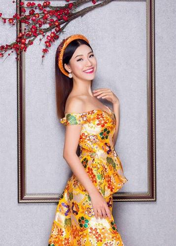 Ve dep nuot na khong ty vet cua A hau Hoang Oanh-Hinh-5