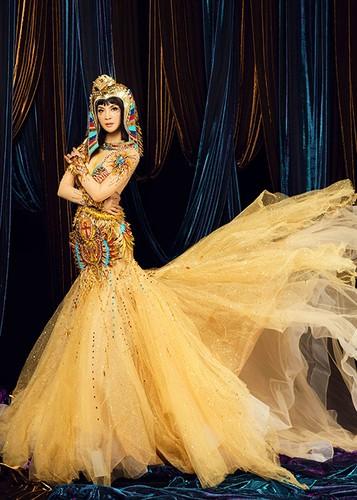 MC Thanh Mai dep kieu ky khi hoa than nu hoang Cleopatra-Hinh-5