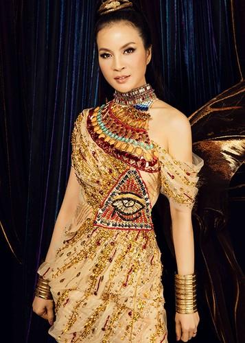 MC Thanh Mai dep kieu ky khi hoa than nu hoang Cleopatra-Hinh-8