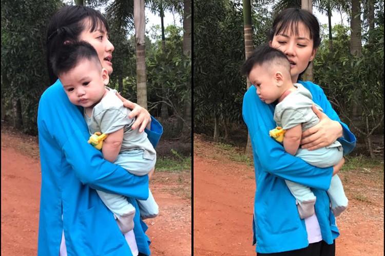 Hot Face sao Viet 24h: Ky Han bi nem da khi che chong kho-Hinh-4