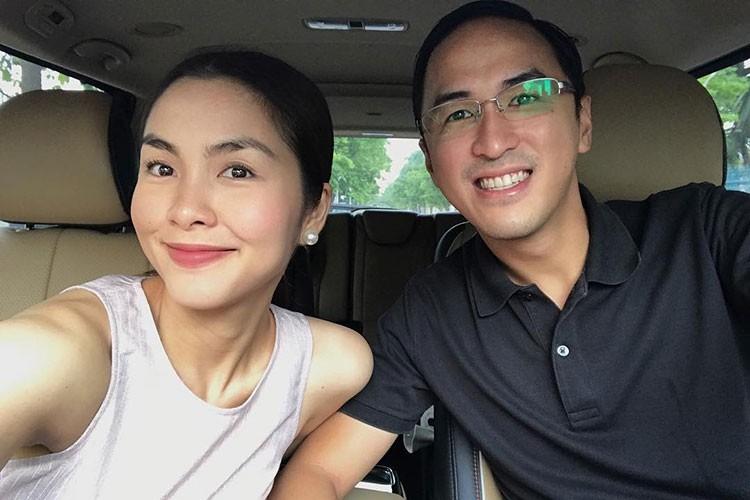 Hot Face sao Viet 24h: Tang Thanh Ha khoe anh rang ngoi ben chong