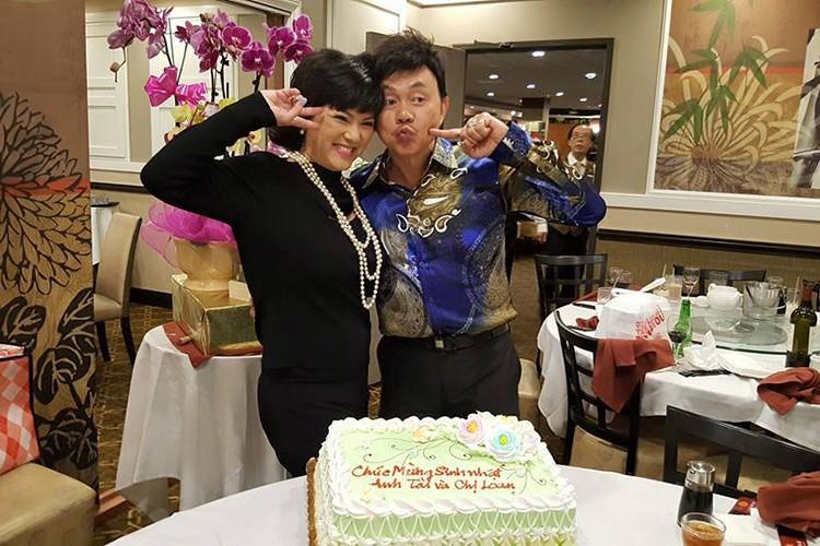 Hot Face sao Viet 24h: Vo chong Chi Tai hanh phuc mung sinh nhat chung