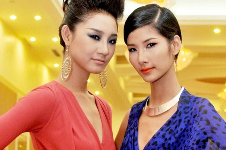 """Hoang Thuy """"lot xac"""" tu Next Top den Hoa hau Hoan vu Viet Nam-Hinh-4"""