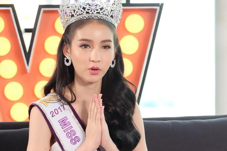 """Cha hoa hau Thai Lan """"dep nhu tien"""": """"Dau don vi con chuyen gioi"""""""