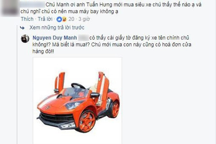 Duy Manh phan ung la khi Tuan Hung khoe sieu xe gan 20 ty-Hinh-4