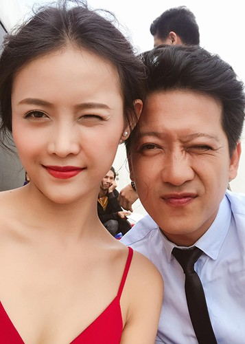 Hot Face sao Viet 24h: Truong Giang di quay phim mac on ao