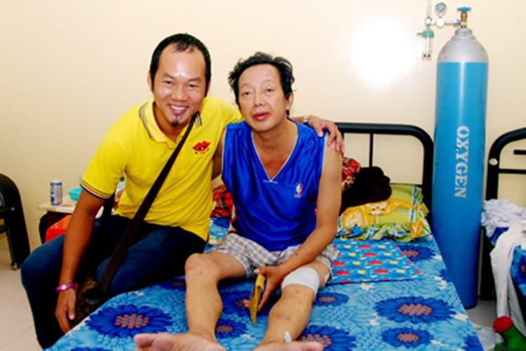 Chan dung nghe si Khanh Nam dang nguy kich vi xuat huyet nao-Hinh-9
