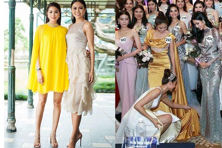 Hot Face sao Viet 24h: Mau Thuy len tieng khi duoc Pham Huong chinh vay