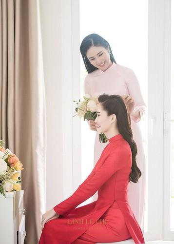 Do sac cap chi em hoa hau than thiet Ngoc Han - Dang Thu Thao