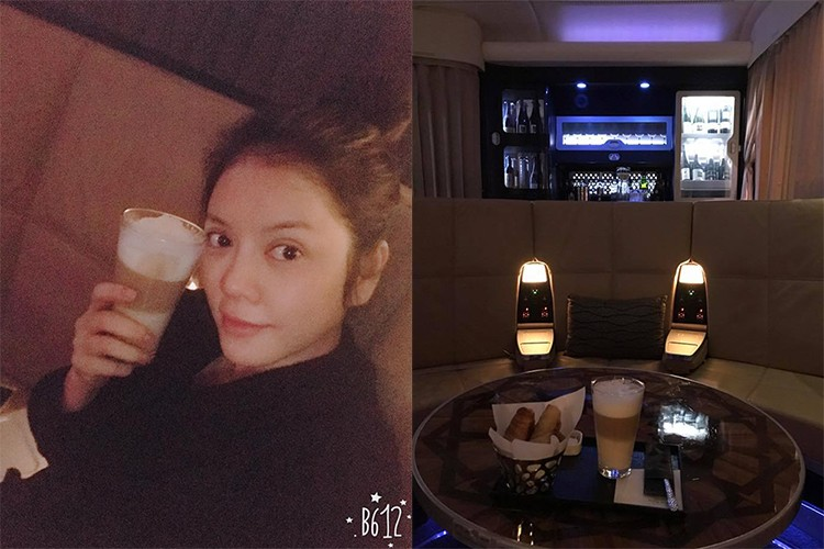 Hot Face sao Viet 24h: Ha Vi dien vay 2 day khoe vai tran goi cam-Hinh-8