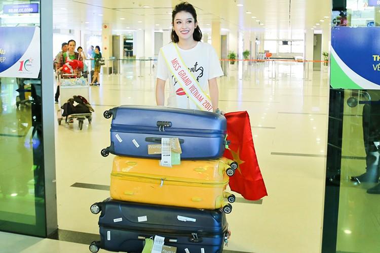 Soi chang duong cua Huyen My truoc chung ket Miss Grand International