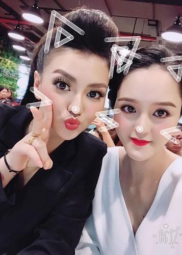 Hot Face sao Viet 24h: A hau Hoang Anh xinh dep tai xuat sau sinh