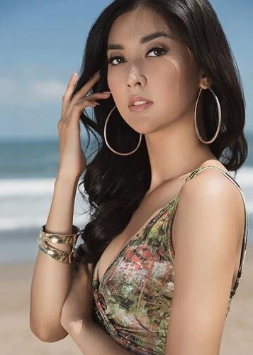 Loat anh dep long lanh cua tan Hoa hau Quoc te-Hinh-2