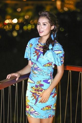 Nhan sac ngay cang khac la cua Hoa hau Ky Duyen-Hinh-3
