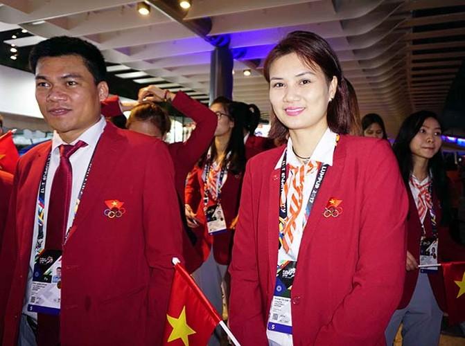 Khai mac SEA Games 29: Trai xinh gai dep doan Viet Nam toa sang-Hinh-5