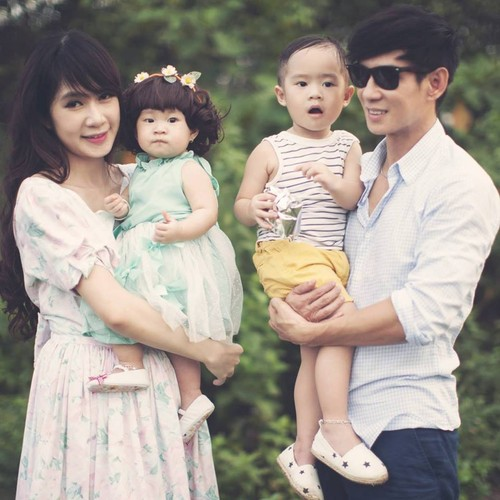 Con gai ut cap doi Ly Hai - Minh Ha cuc dang yeu-Hinh-13