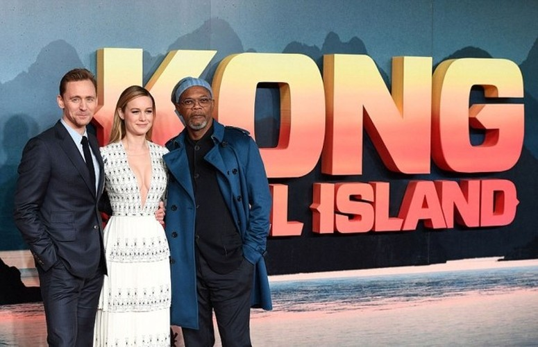 Dan sao Kong: Skull Island rang ro trong ngay ra mat phim-Hinh-2