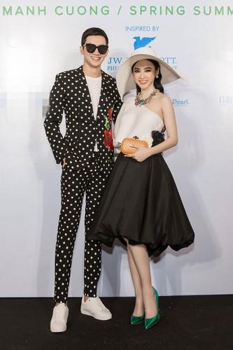 Angela Phuong Trinh va ban trai ra Phu Quoc xem show thoi trang-Hinh-2