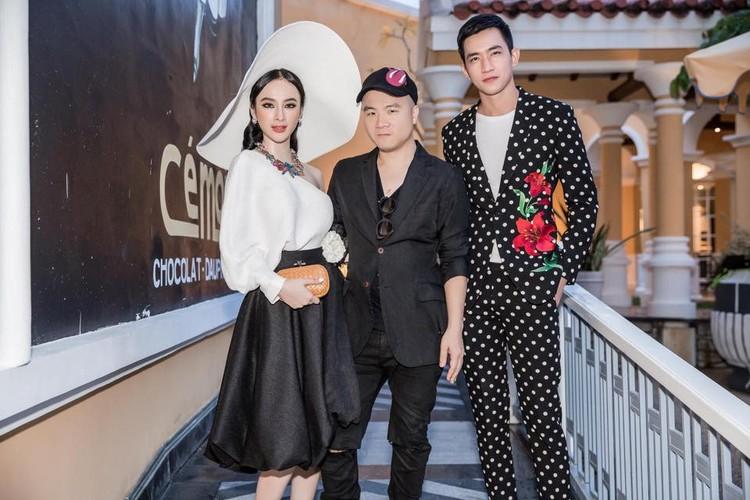Angela Phuong Trinh va ban trai ra Phu Quoc xem show thoi trang-Hinh-3