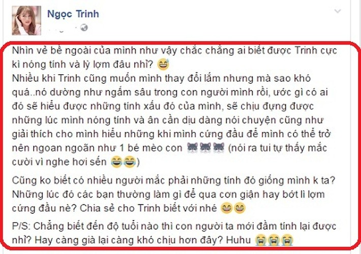 Ngoc Trinh tiet lo tinh xau kho bo khien fan bat ngo-Hinh-3