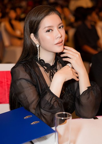Ly Nha Ky dep kieu sa di cham thi Miss Grand International-Hinh-8